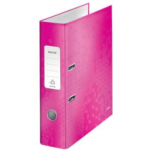 Biblioraft 80 mm Leitz 180° WOW, roz metalizat3