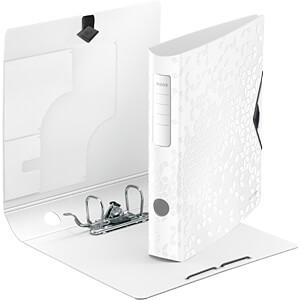 Biblioraft Leitz Active WOW 180°, A4, 50 mm, polyfoam, alb1