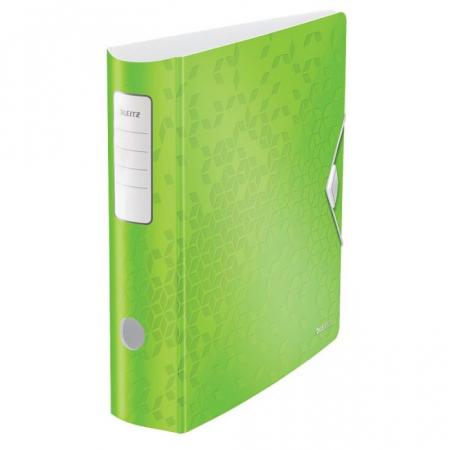 Biblioraft Leitz Active WOW 180°, A4, 75 mm, polyfoam, verde0