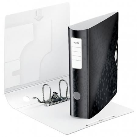 Biblioraft Leitz Active WOW 180°, A4, 75 mm, polyfoam, negru1
