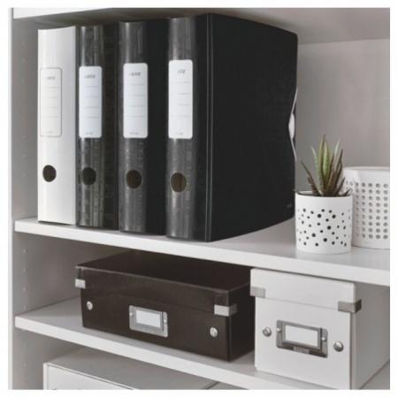 Biblioraft Leitz Active WOW 180°, A4, 75 mm, polyfoam, negru2