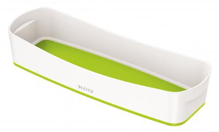 Cutie depozitare Leitz MyBox Organiser, lunga, culori duale, alb-verde0