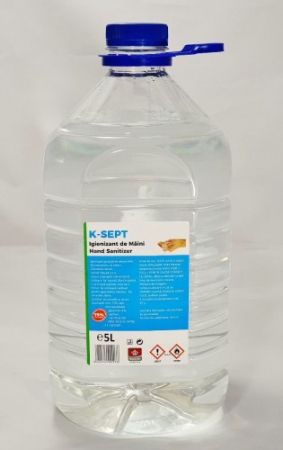 Dezinfectant maini K-SEPT 5L 75% alcool [1]