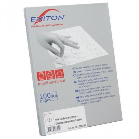 Etichete autoadezive 6/A4 Exiton 210x48 100 coli/top0