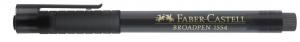 Fineliner Faber-Castell Broadpen 1554 0.8mm, negru [0]