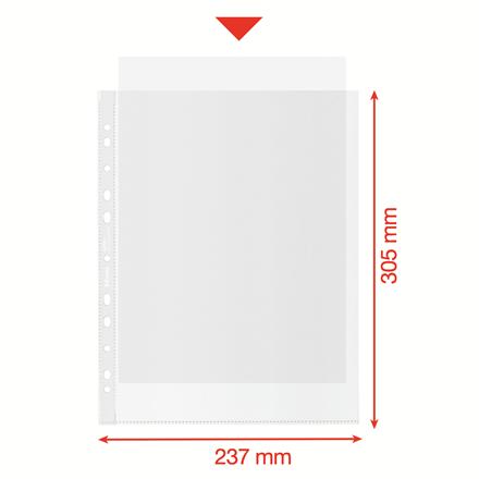 Folie de protectie Esselte Recycled, PP, A4 MAXI, 70 mic, 50 buc/cutie, standard [3]