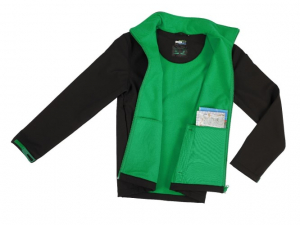 Geaca Barbateasca Softshell, Marimea L, verde [1]