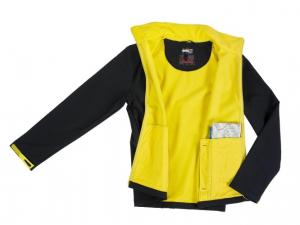 Geaca Barbateasca Softshell, Marimea XL, galben [1]