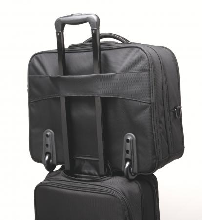 """Geanta Kensington Contour 2.0 Business, pentru laptop de 17"""", 2 rotile, negru3"""
