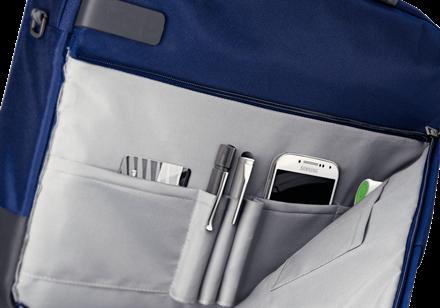 "Geanta Leitz Smart Traveller Laptop 13,3"" albastru-violet2"