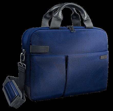 "Geanta Leitz Smart Traveller Laptop 13,3"" albastru-violet0"