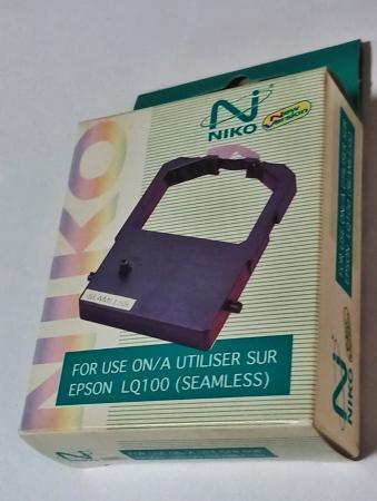 Ribon Niko compatibil Epson LQ-100, imprimare neagra0