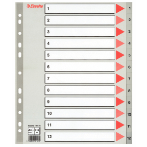 Separatoare Esselte Maxi 1-12 [0]
