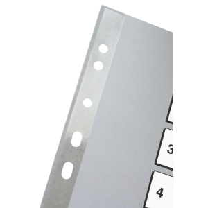 Separator Esselte plastic 1-10, A43