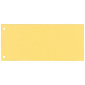 Separator 105x240 carton Esselte 100buc galben [0]