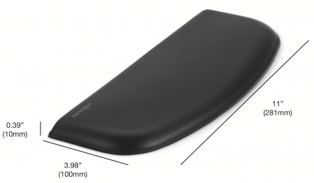 Suport incheietura pt tastatura Kensington ErgoSoft, slim, negru [3]