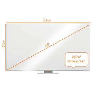"""Tabla NOBO Impression Pro Widescreen 85"""" magnetica din otel9"""