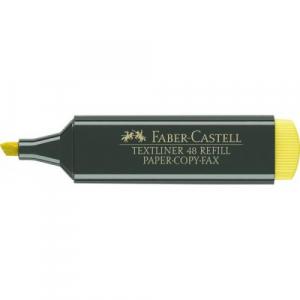 Textmarker Faber-Castell 1548, galben0
