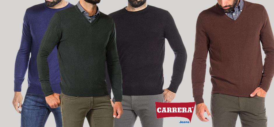 CARRERA JEANS PULOVERE DE BARBATI DIN CASMIR