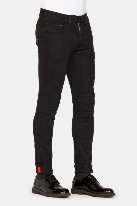 PACK 10 BLACK STRETCH JEANS STYLE 717 1