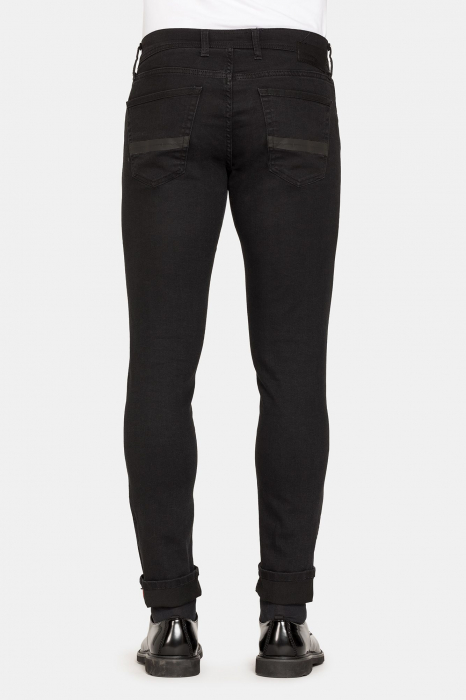 PACK 10 BLACK STRETCH JEANS STYLE 717 3