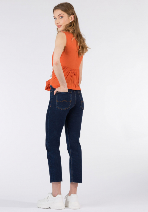 PACK 10 TIFFOSI Jeans women Amy 19 Straight Fit Cintura Alta 2