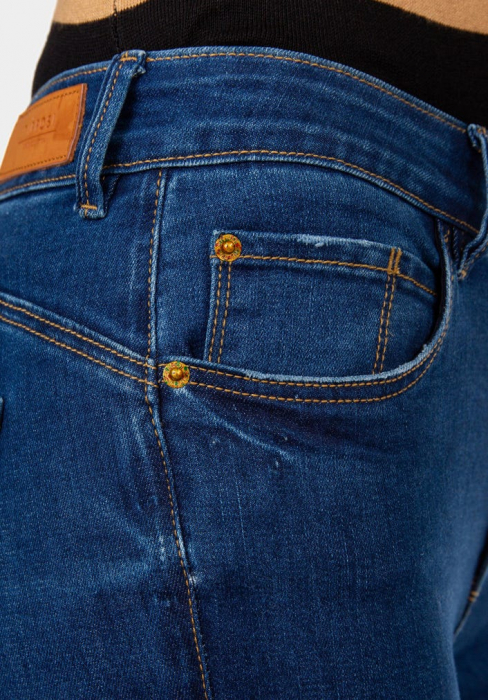 PACK 10 TIFFOSI Women Jeans Body Curve 47 Skinny Cintura Alta 4