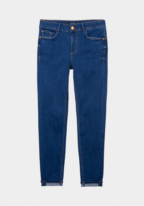 PACK 10 TIFFOSI Women Jeans Body Curve 47 Skinny Cintura Alta 0