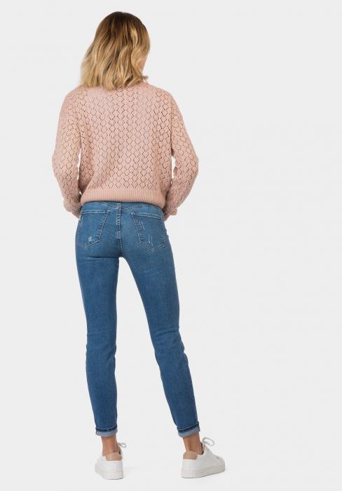 PACK 10 TIFFOSI Women Jeans Body Curve 48 Skinny Cintura Alta - TIFFOSI 1
