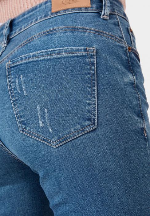 PACK 10 TIFFOSI Women Jeans Body Curve 48 Skinny Cintura Alta - TIFFOSI 3
