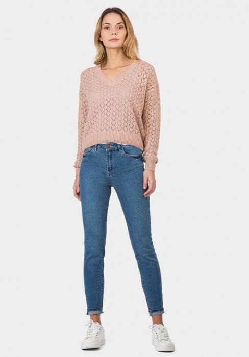 PACK 10 TIFFOSI Women Jeans Body Curve 48 Skinny Cintura Alta - TIFFOSI 2