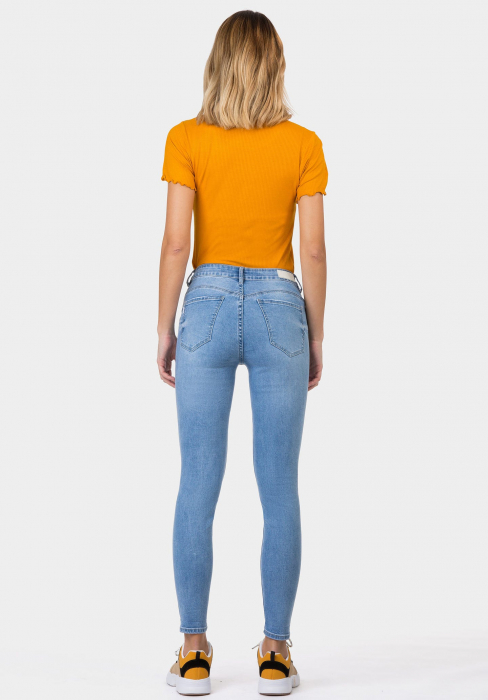 PACK 10 TIFFOSI Women Jeans Body Curve 49 Skinny Cintura Alta 1