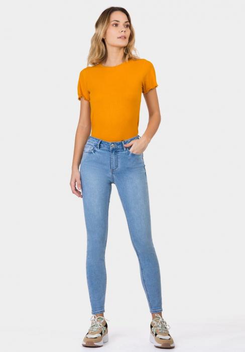 PACK 10 TIFFOSI Women Jeans Body Curve 49 Skinny Cintura Alta 2