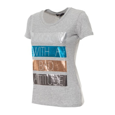 PACK 9 TRUSSARDI GRAY T-SHIRT WOMAN 0