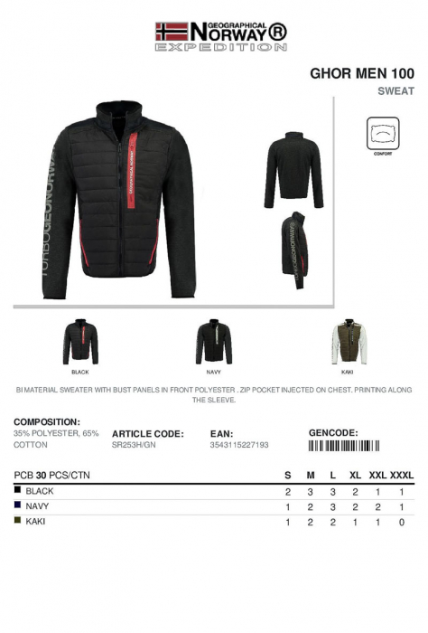 PACK 30 GEOGRAPHICAL NORWAY  GECI ASORTATE 3