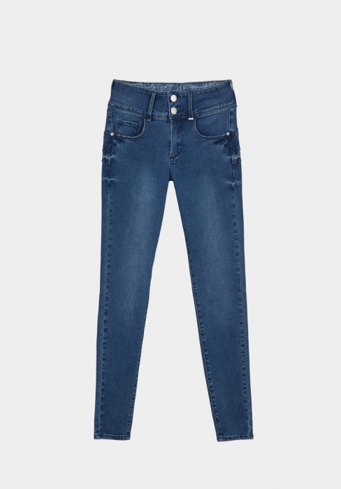 PACK 10 TIFFOSI Jeans women DOUBLE_UP_238 Skinny 0
