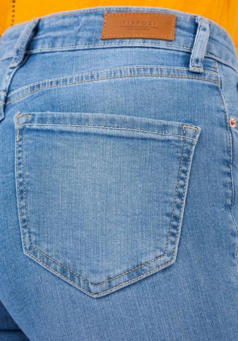 PACK 10 TIFFOSI Jeans women Jennifer 15 Slim Fit cintura alta 5