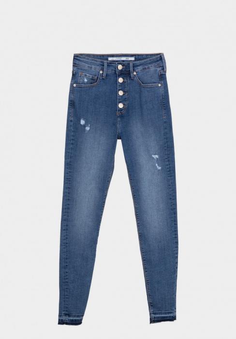 PACK 10 TIFFOSI Jeans women  Jodie 199 Skinny Cintura Alta 0