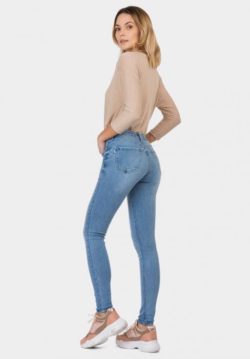 PACK 10 TIFFOSI Women Jeans Nicky 456 Skinny Cintura Média 2