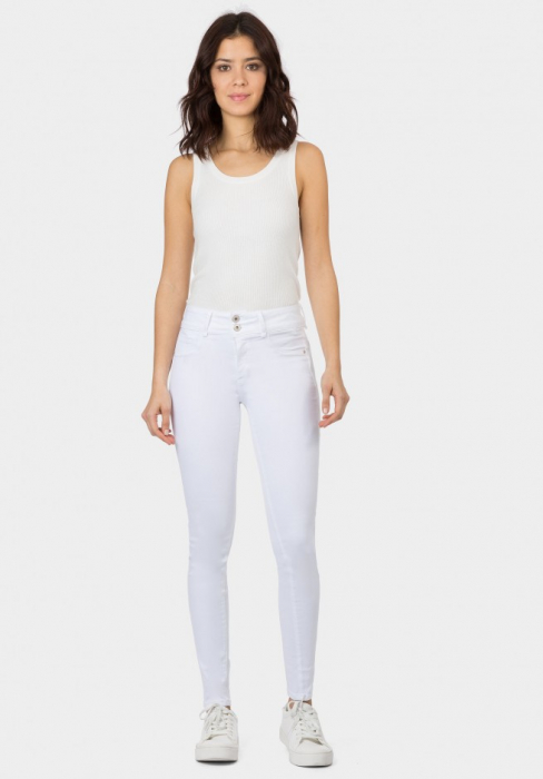 PACK 10 Jeans One Size Double-up 36 Skinny Cintura Alta 1