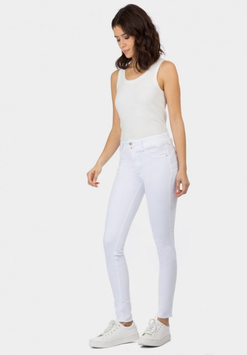 PACK 10 Jeans One Size Double-up 36 Skinny Cintura Alta 2
