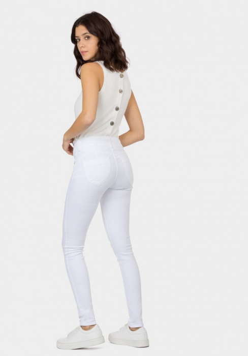 PACK 10 Jeans One Size Double-up 36 Skinny Cintura Alta 3