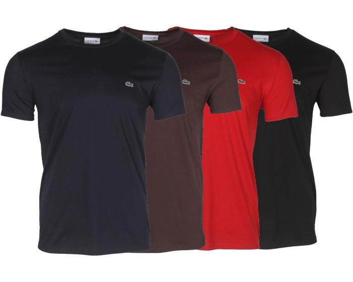 PACK  Lacoste Men's T-Shirt Crew Neck 4