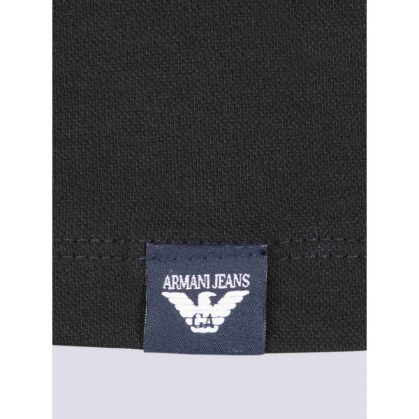 PACK 10 ARMANI JEANS Polo Shirt-Black 2