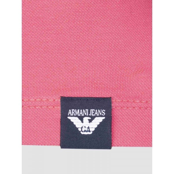 PACK 10 ARMANI JEANS Polo Shirt-Fuchsia slim fit 2