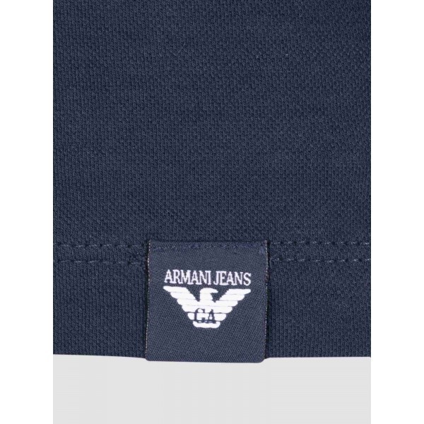 PACK 10 ARMANI JEANS Polo Shirt-Navy slim fit 2