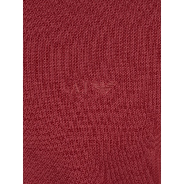 PACK 10 ARMANI JEANS Classic Polo Shirt Red-Muscle fit 2