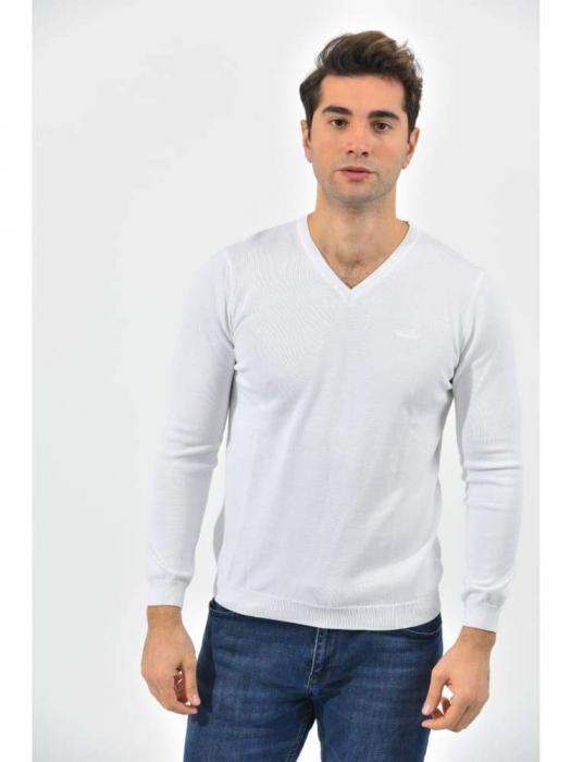 Boss Men´s V-Neck Pullover White/Alb [0]