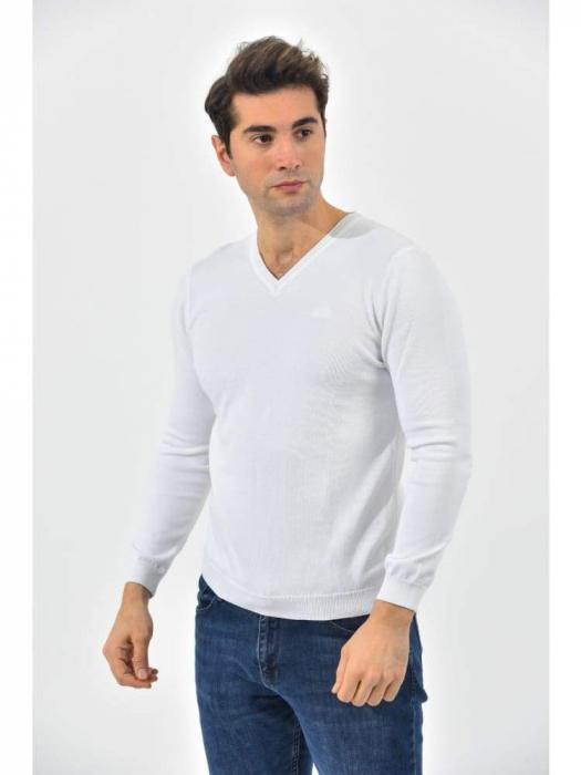 Boss Men´s V-Neck Pullover White/Alb [1]