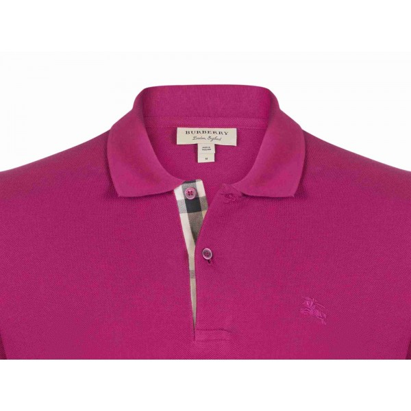 PACK 10 BURBERRY Hartford Polo Shirt in Coral Pink 1